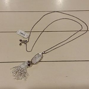 Kendra Scott rayne tassel necklace new with tags